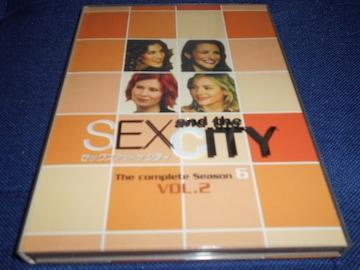 セックス・アンド・ザ・シティ シーズン6 Vol.2 2枚組