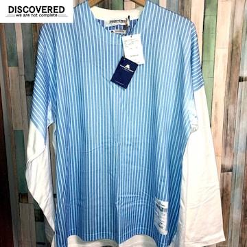 DISCOVERED × THOMAS MASON 長袖Tシャツ