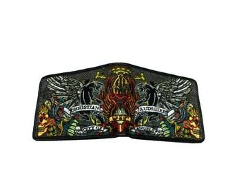 セール新品送込ChristianAudigierクリスチャンオードジェー刺繍パンサー財布
