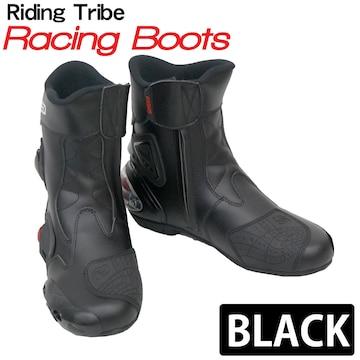 Riding Tribe レーシングブーツ バイク用 RB-BK 43 26.5cm
