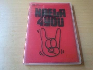 木村カエラDVD「KAELA KIMURA 1st TOUR 2005 4YOU」●