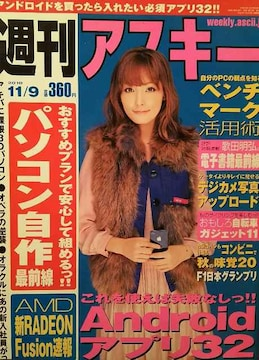 平山あや・大杉亜依里【週刊アスキー】2010年11月9日号