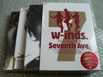"w-inds/Live Tour 2008 ""Seventh Ave"" 初回盤(3DVD)ポストカード"