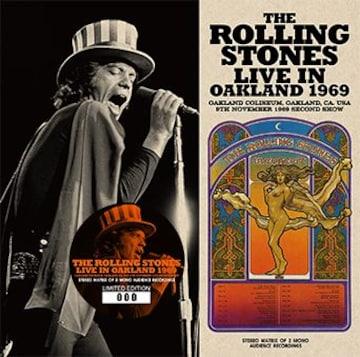 廃盤 ROLLING STONES   LIVE IN OAKLAND 1969