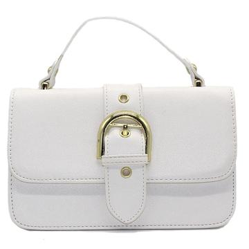 白★ショルダー、レディースミニハンドバッグ鞄