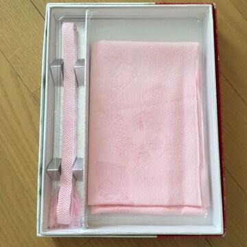 帯締 帯揚げ 飾り襟 三点セット 桜色