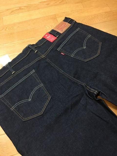 LEVI'S  インディゴストレートデニム  541  sizeW44  120cm  ストレッチ < 男性ファッションの