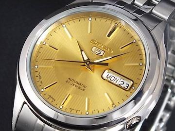 セイコー SEIKO セイコー5 SEIKO 5 オート 腕時計 SNKL21J1 ゴールド