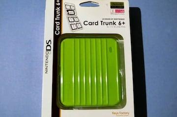 ●新品●カードトランク 6+ ライム★