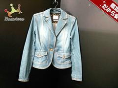 クミキョク ジャケット 2 レディース 美品 ブルー
