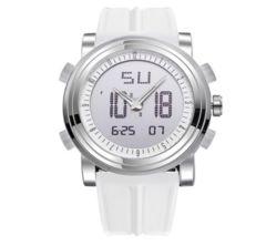 スポーツ腕時計 ファッション デジタル アナログ 白