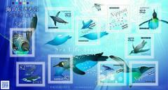 海のいきものシリーズ 第1集 82円切手 ペンギン