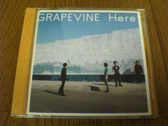 グレイプバインCD Here GRAPEVINE
