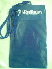 EXILE 三代目JSB ライブ コンサート オリジナル チケット フォルダー ブルー ファンクラブ
