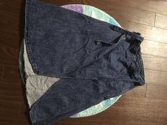 ロデオクラウンズのデニム巻きスカート