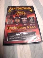 未開封DVD横山健(ハイスタ)Backstage Pass