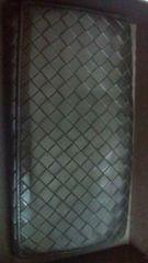 鑑定済BOTTEGAVENETA(ボッテガヴェネタ)長財布:黒中古商品:箱あり