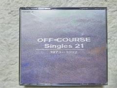3枚組CD オフコース singles21 '73〜'82 全42曲 '89/12 小田和正