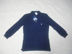 517 女 Ralph Lauren ラルフローレン 7分袖ポロシャツ XSサイズ