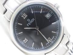 3339/FENDIフェンディ定価15万円位未使用★ブラックダイヤルメンズ腕時計