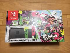 【新品未使用】任天堂 Switch スプラトゥーン2セット