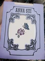 ANNA SUI★バタフライ&ローズワンポイント柄★ストッキング