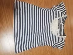 トゥララ★ボーダーTシャツ★フリーサイズ