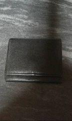 バーバリー黒革コインケース