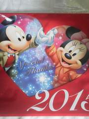 ミッキーマウス(Disney)壁掛カレンダー 2015年