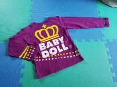 BABYDOLL☆バックデカロゴロンT☆ベビードール 美品