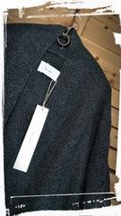 *Crea delice* 鹿の子編み カーデコート 新品 \10584 チャコールグレー
