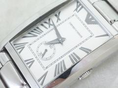 4484/エンポリオアルマーニスクエアケース型クラシカルフェイスメンズ腕時計AR-1607