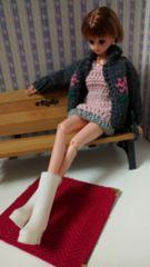 ジェニーちゃん、リカちゃんのブーツ