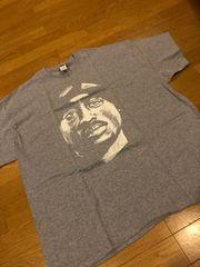 Hiphop  2pac  トゥパック  グレー   size2XL XXL