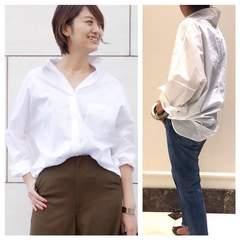 2017SS今期新品!ドゥーズィエムクラスドロップショルダーシャツ