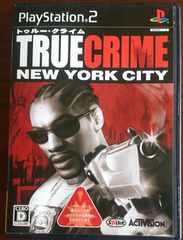 (PS2)TRUE CRIME NEY YORK CITY/トゥルークライムニューヨークシティ☆箱庭