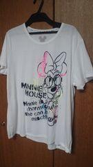 4LミニーマウスTシャツ白