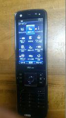 即決価格au 携帯電話ガラケーT006 中古インディゴブルー