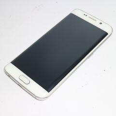 ●安心保証●美品●au SCV31 Galaxy S6 edge パール●