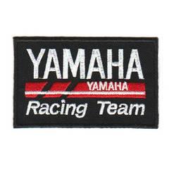 ヤマハ(YAMAHA Racing Team)*ワッペン*黒赤白#yrt001