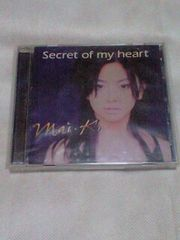倉木麻衣Secret of my heart輸入盤