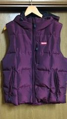 新品同様 14FW Supreme Iridescent Puffy Vest