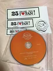 安室奈美恵Blu-rayステッカー新品finally25th in沖縄anniversary