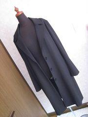 エモダ/EMODA新品チェスターコート♪黒☆Mゆったり大き目