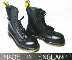 ドクターマーチン英国製1919黒uk5