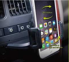 iPhone スマートフォンフォルダー CDスロットに装着