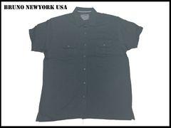 新 【グレ色-2XLB】 Bruno Newyork シャツ 人気大きいサイズ