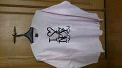 激安82%オフシュプリーム、モンタージュ、長袖Tシャツ(美品、限定、ピンク、M)