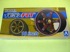 アオシマ 1/24 ザ・チューンドパーツ No.24 ボルクレーシング TE37RT 18インチ 新品