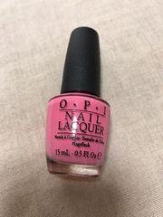 美品 OPI ネイルポリッシュ ピンク NL A68
